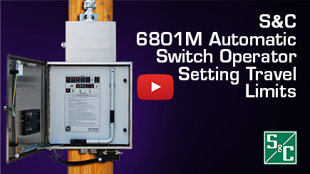 6801M Automatic Switch Operator - Setting Travel Limits