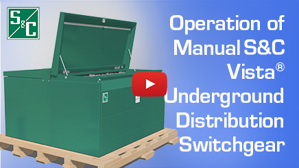 Operation of Manual S&C Vista® Underground Distribution Switchgear